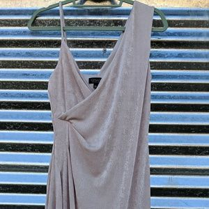 Top shop brand new champagne color dress